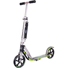 HUDORA Big Wheel Monopattino per la città Bambino, argento/verde